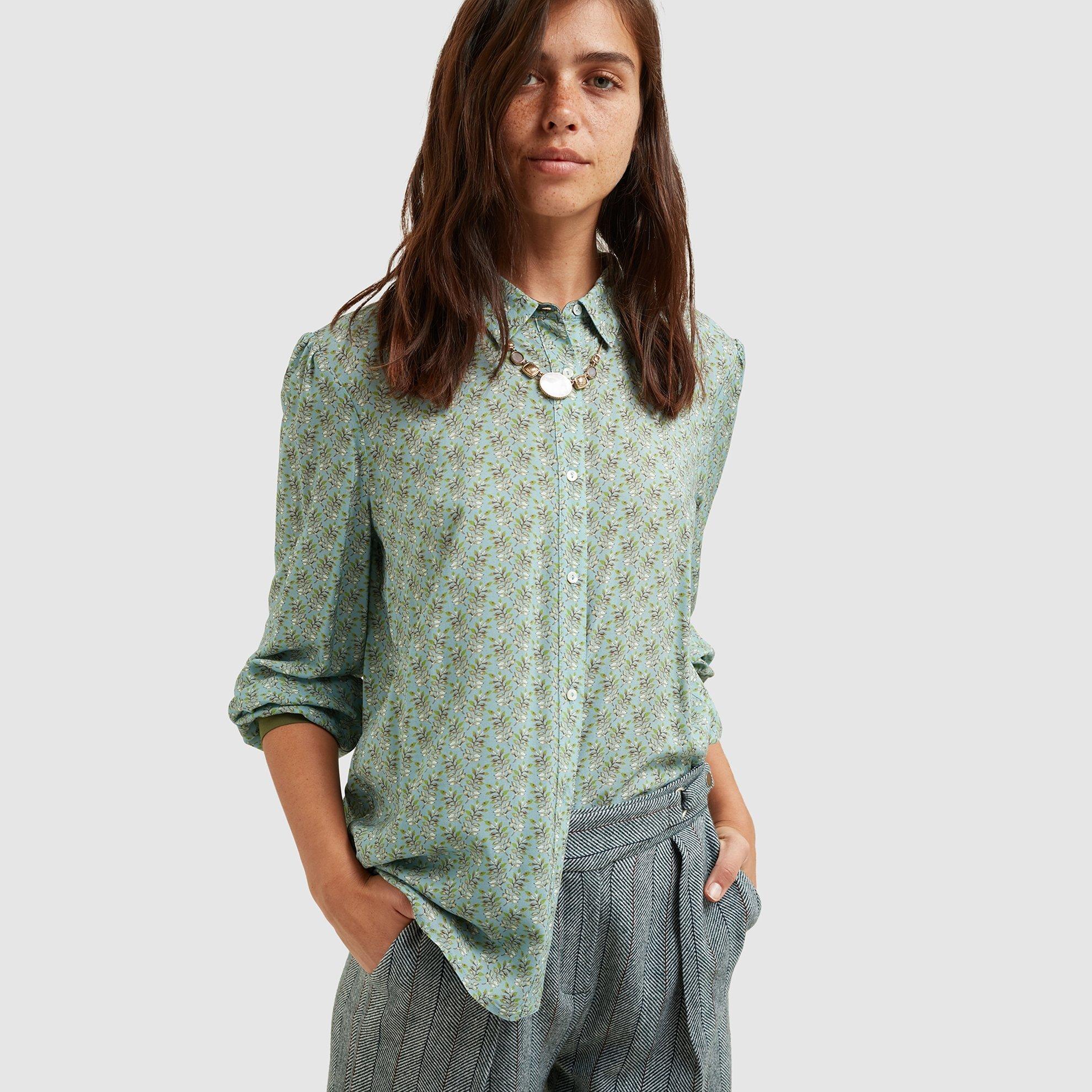 resm Dikiş Detaylı Gömlek