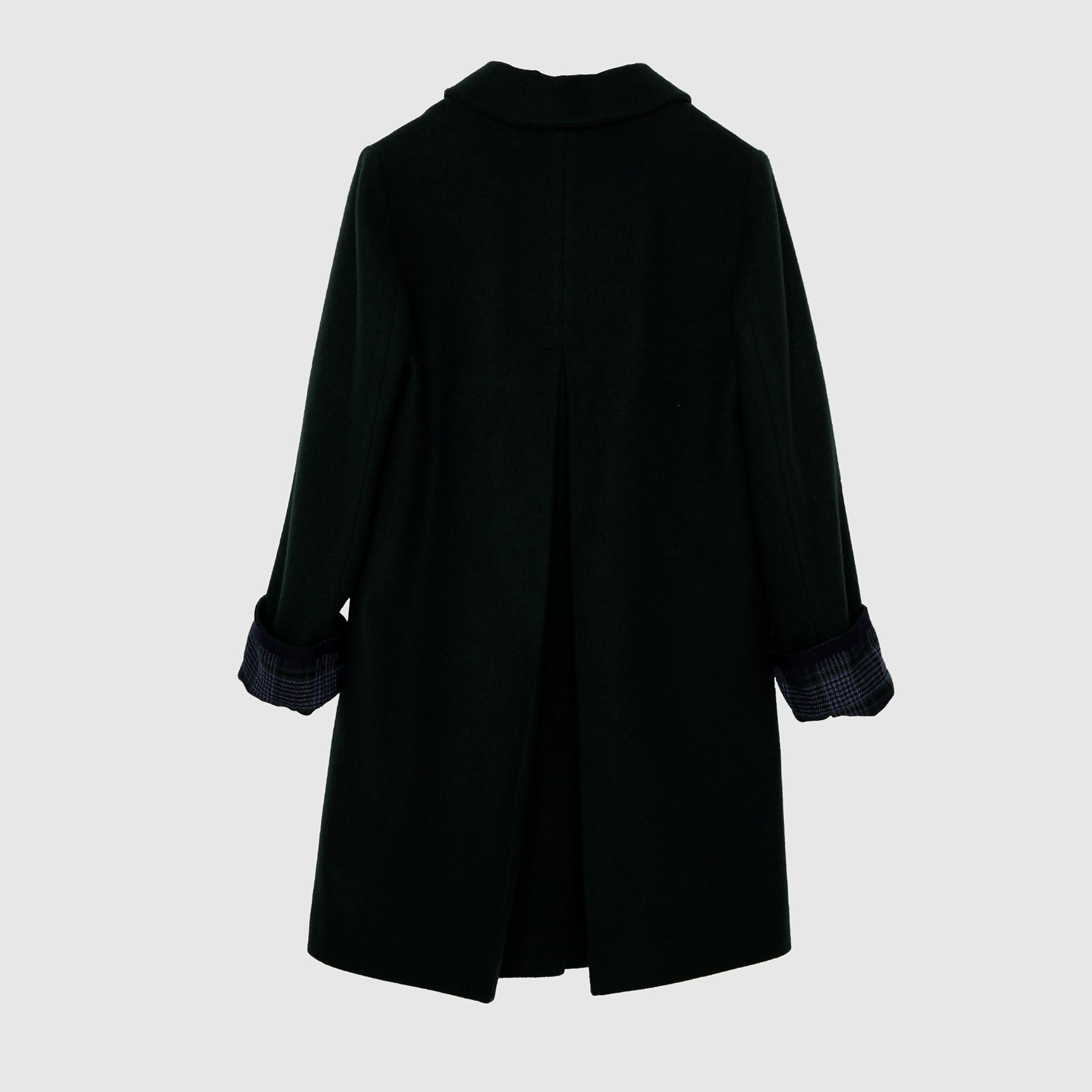 Sleeve Detailed Coat
