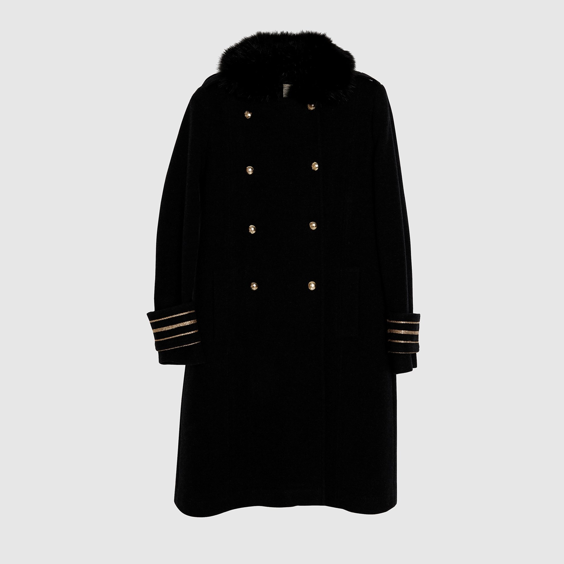 Slit Detailed Coat
