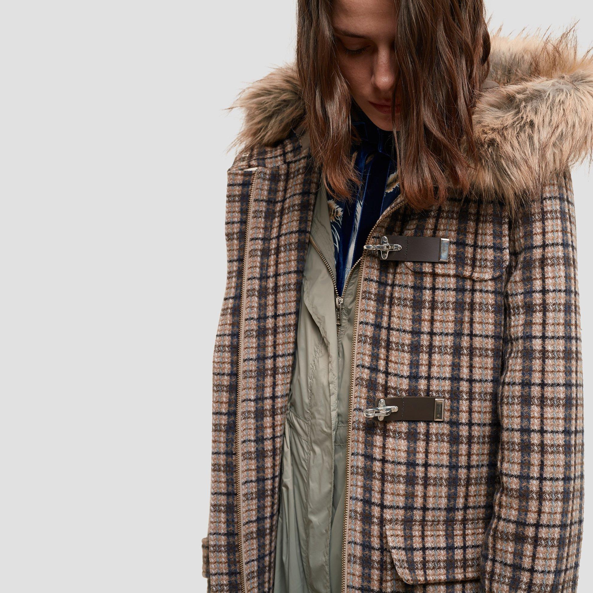 resm Kürk Detaylı Palto