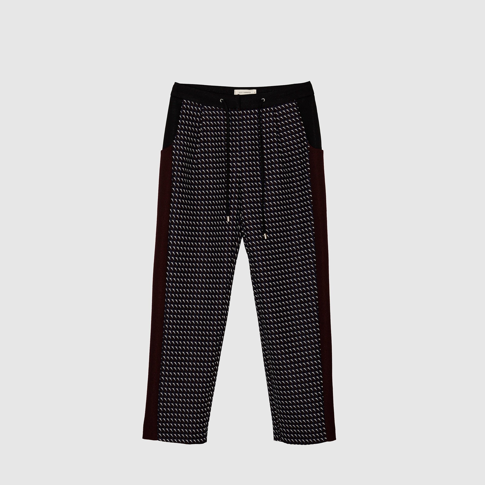 Waistband Detailed Trousers