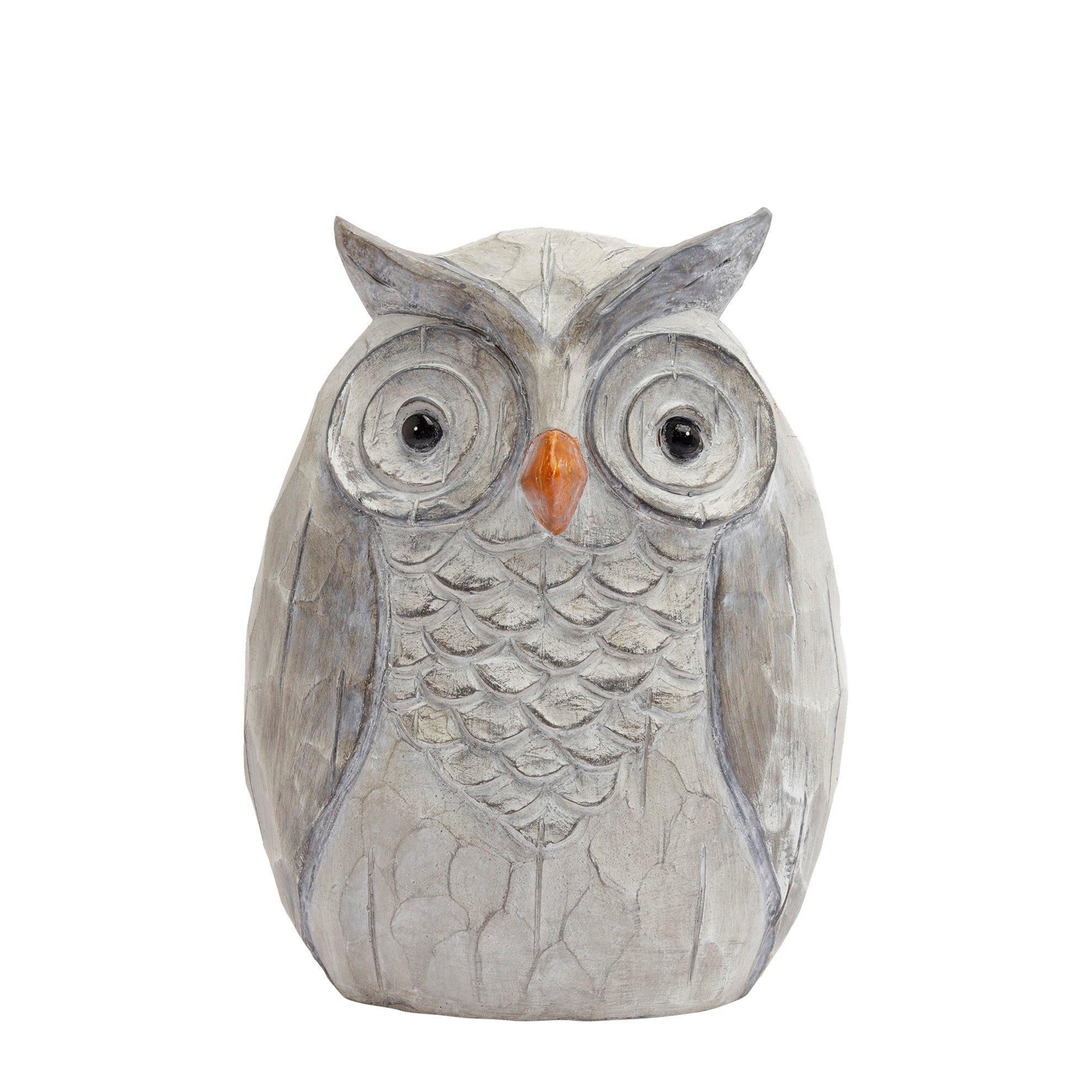 Decorative Owl Figure ( 18 X 23 Cm )