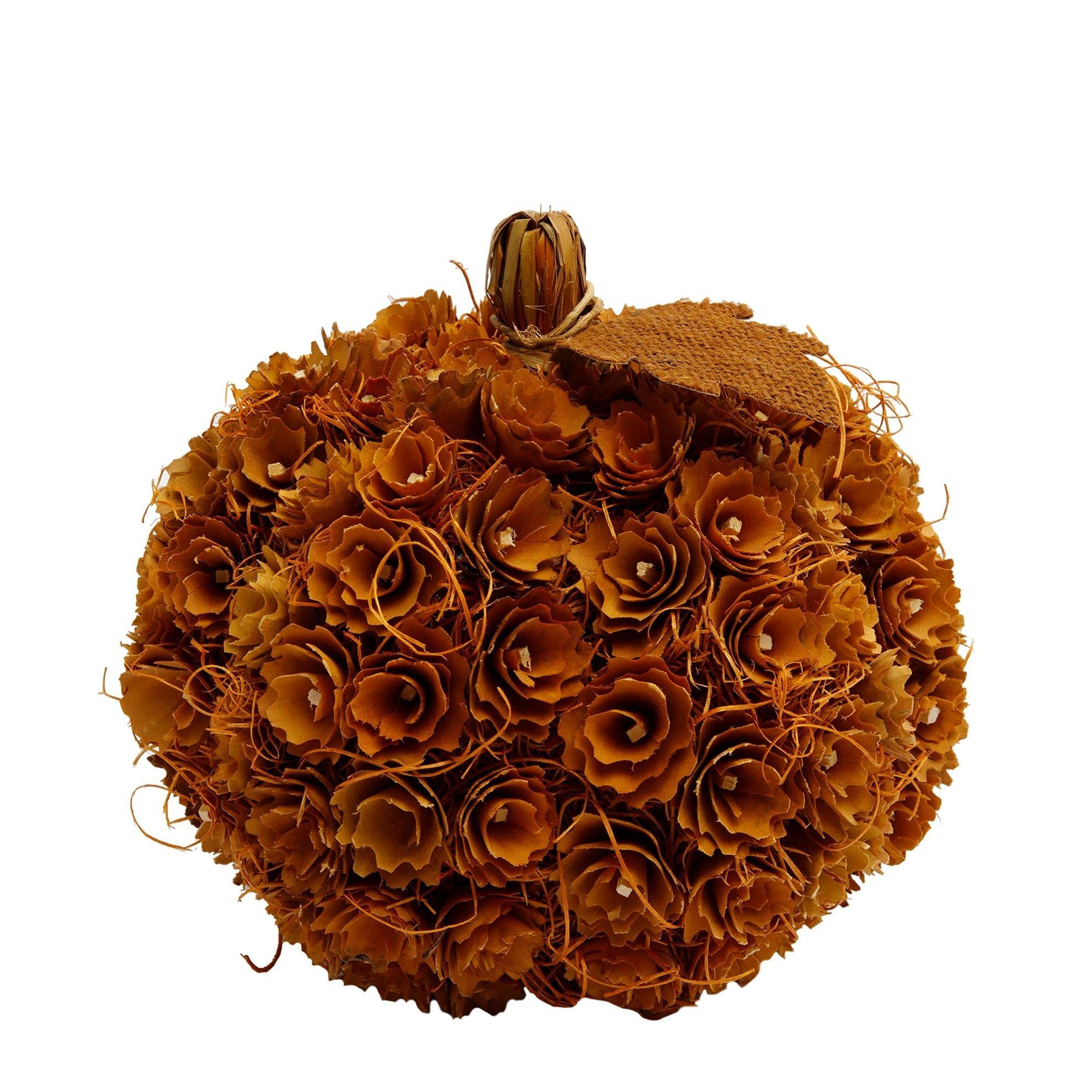 Decorated Pumpkin ( 28 X 28 Cm )