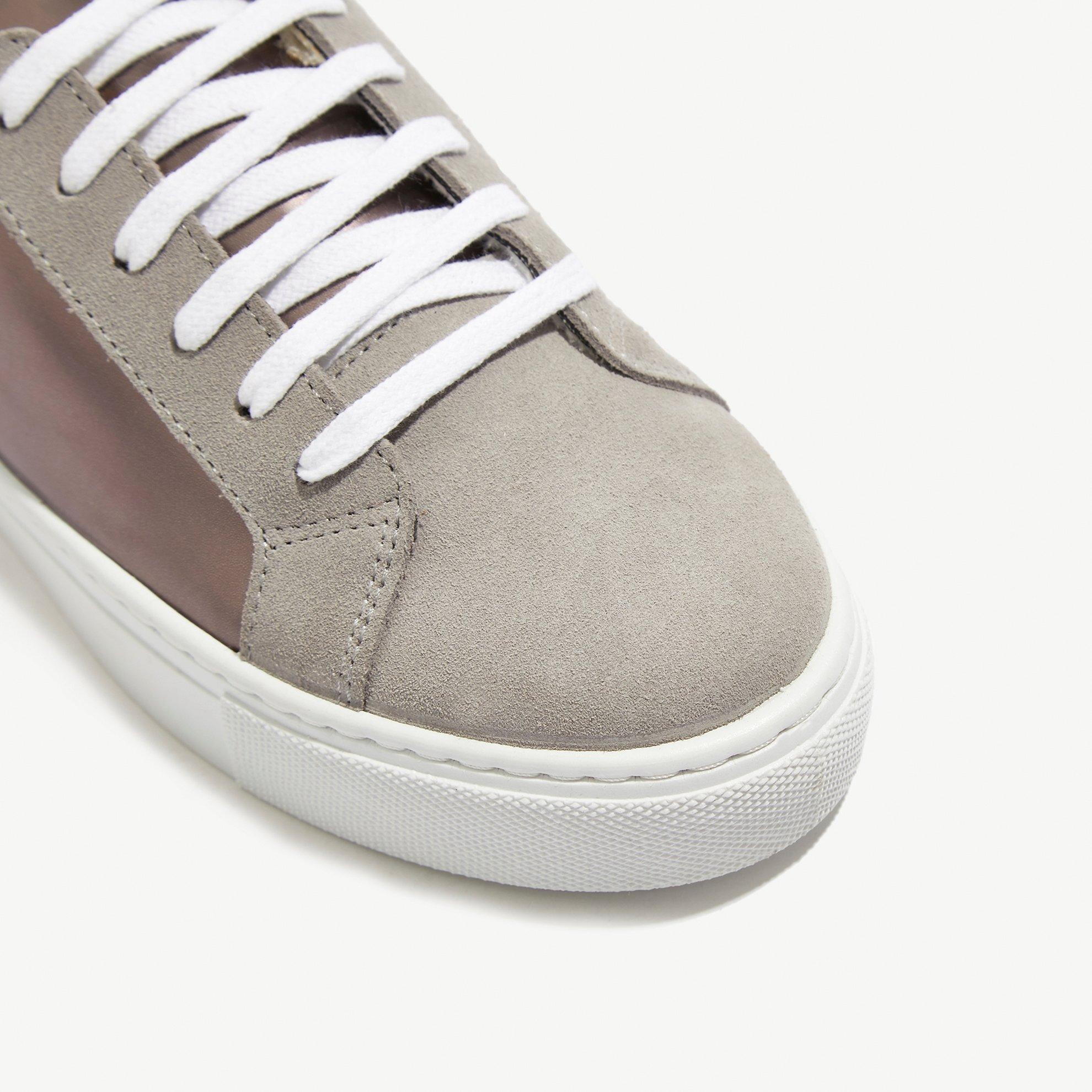 resm Metalik Spor Ayakkabı