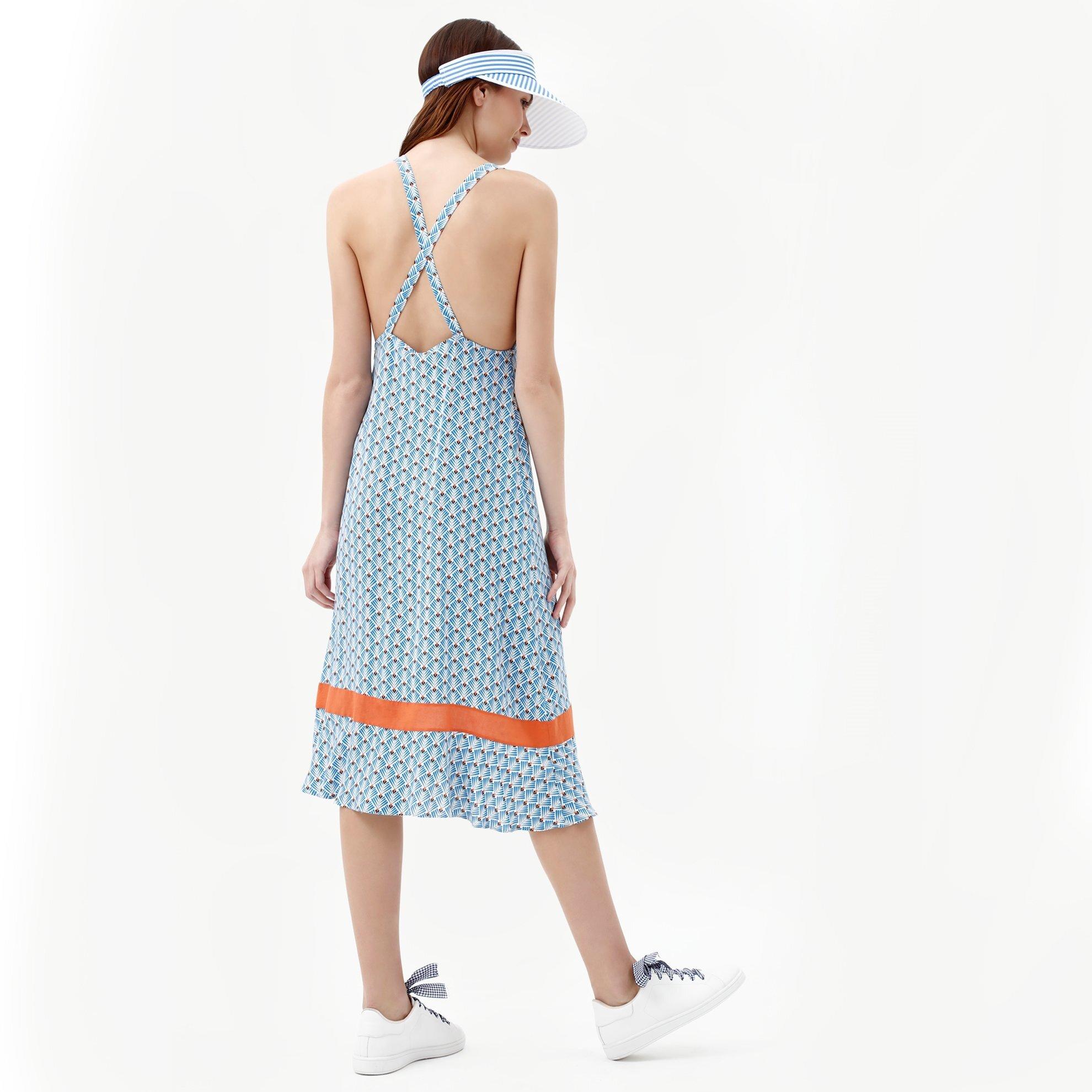 Sırt Detalı Elbise