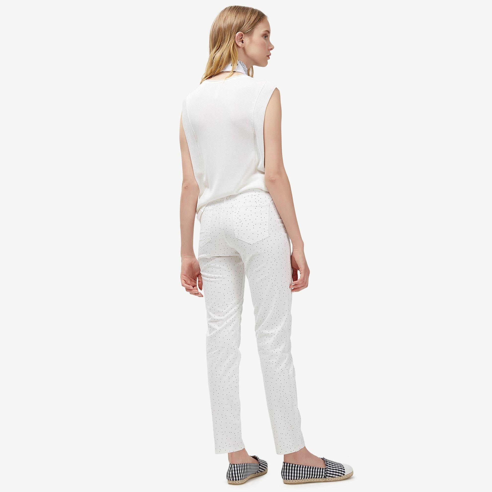 resm Beş Cep Puantiyeli Pantolon