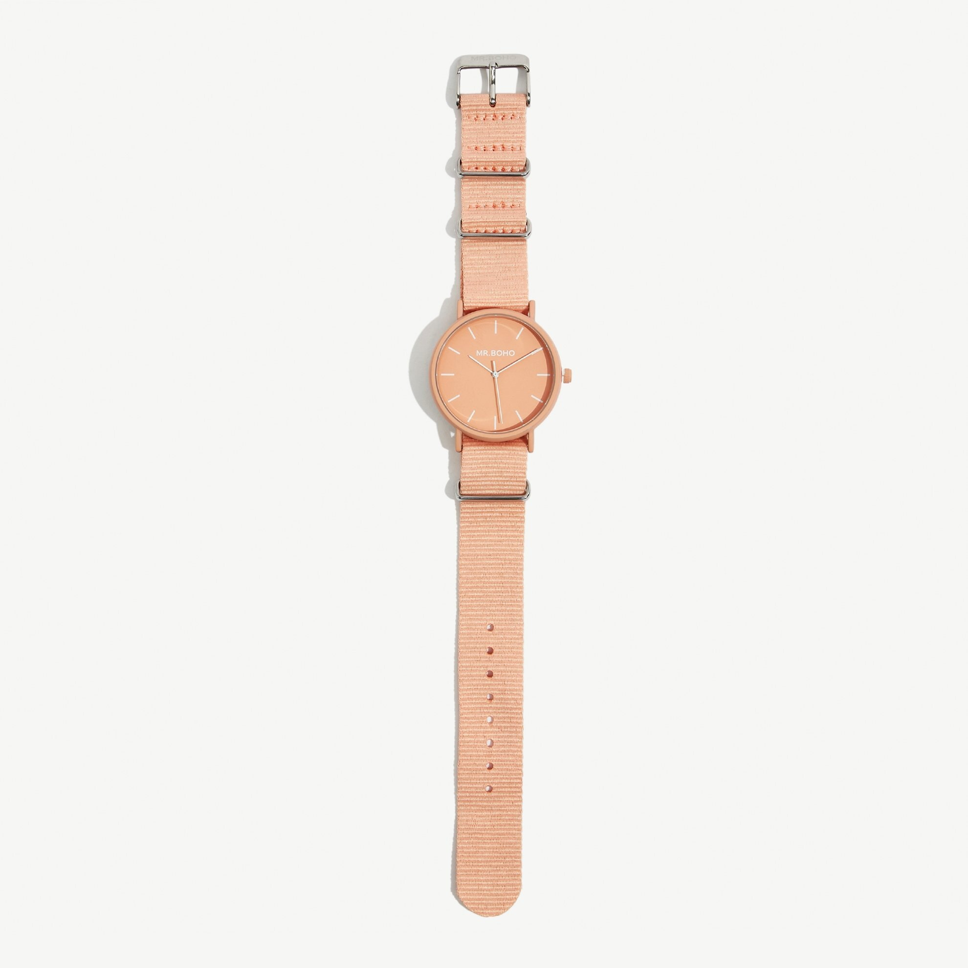 Armbanduhr mit Leinenband