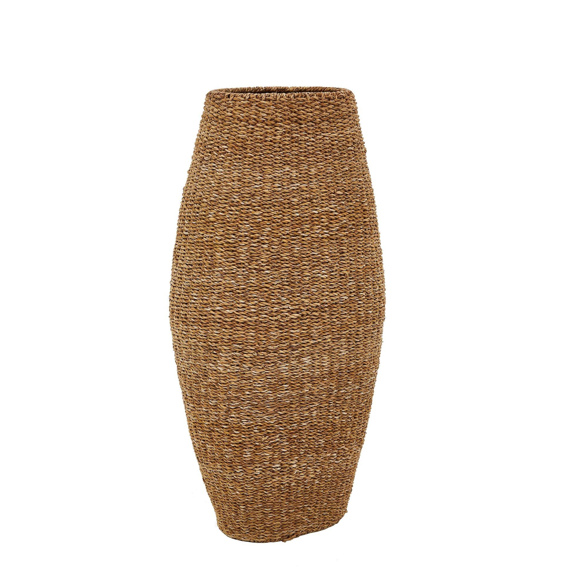Straw Garden Basket ( 100 Cm )