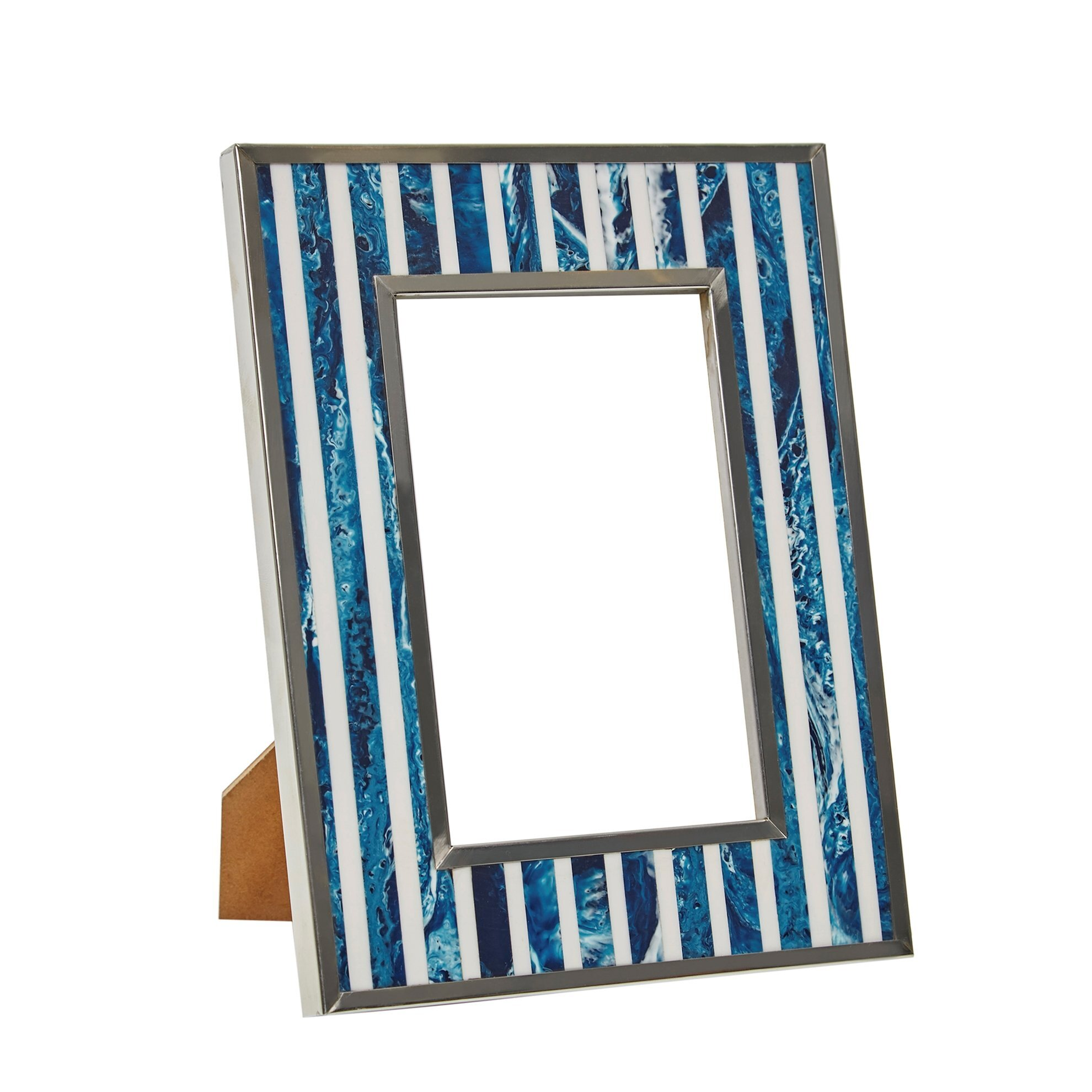 Bone Plated Photo Frame ( 10 X 15 Cm )
