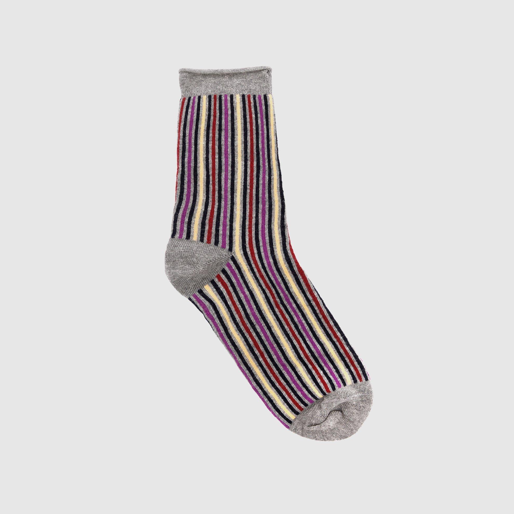 resm Çizgili Kalın Çorap