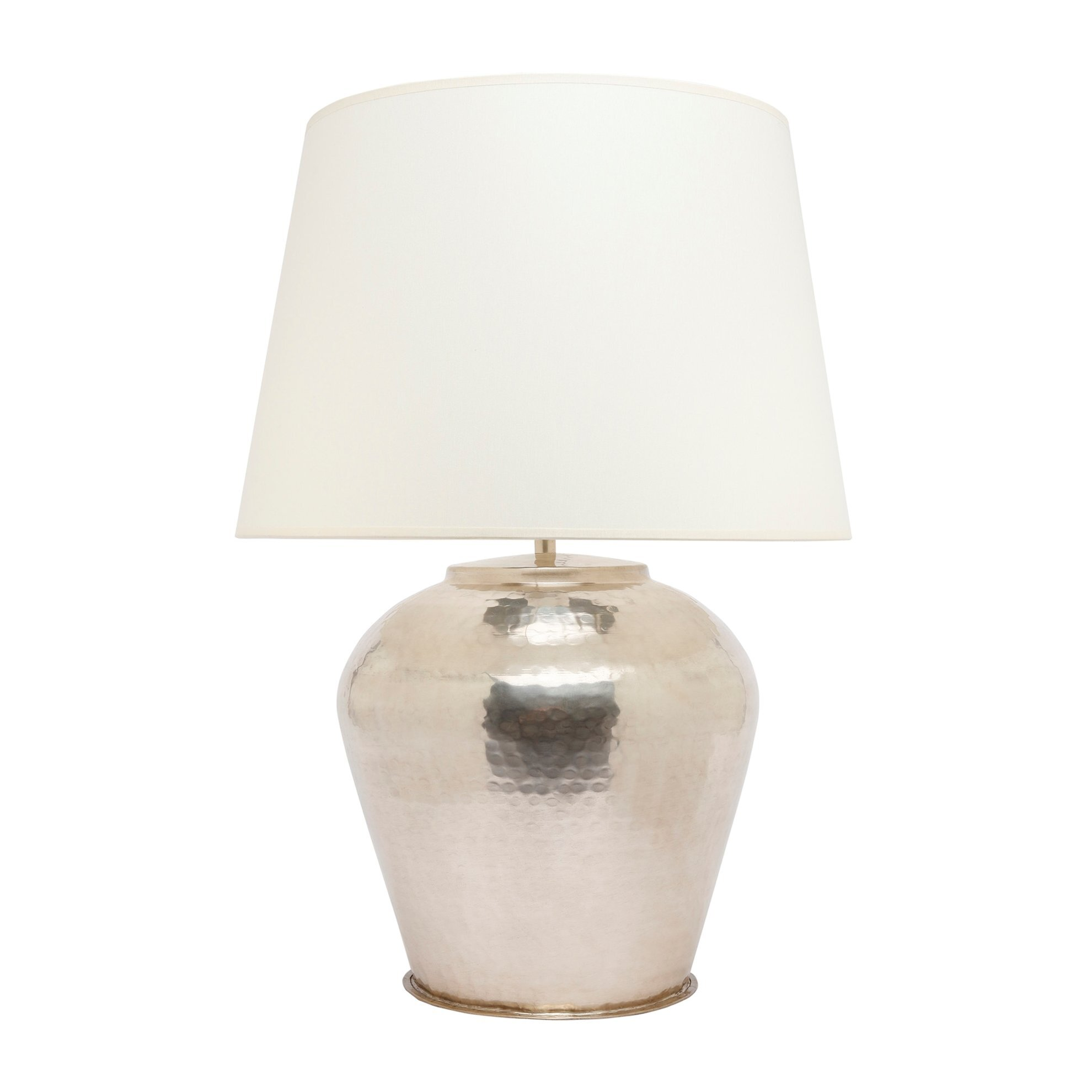 Silver Plated Brass Lampshade ( 45 X 64 Cm )