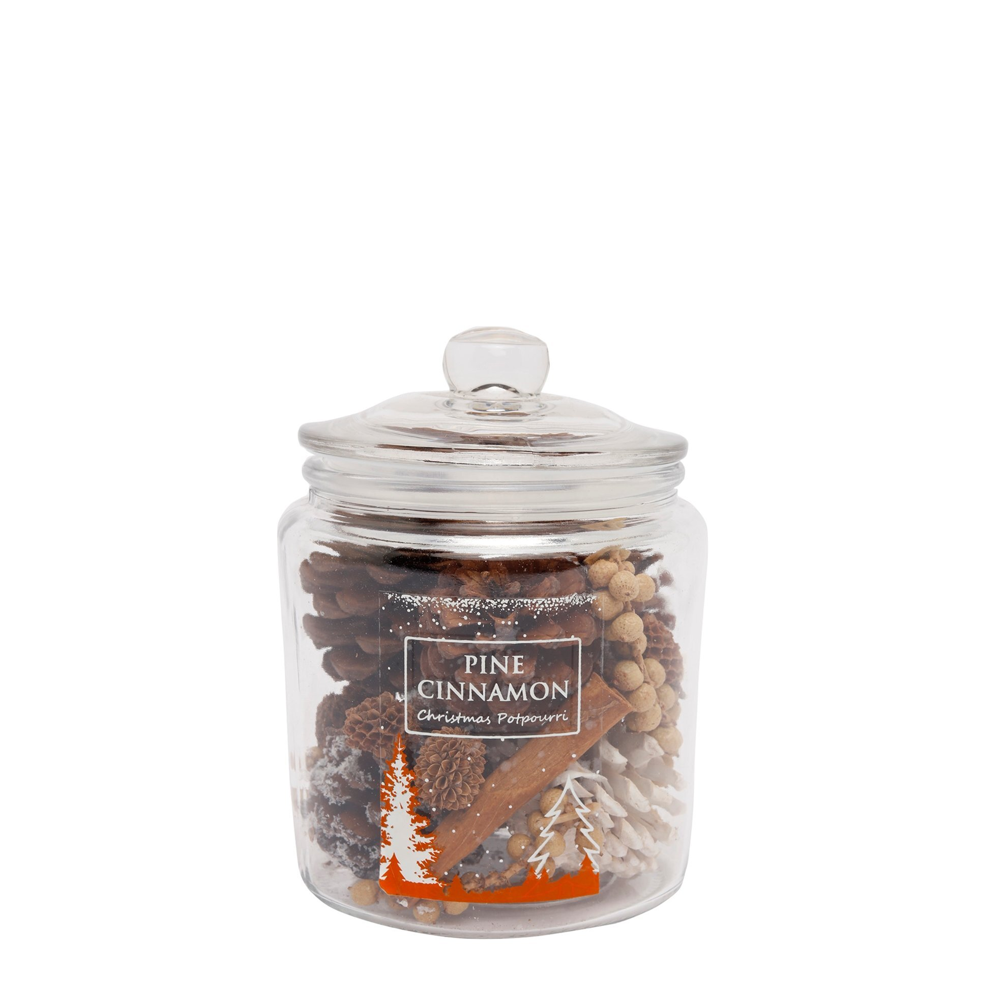 Picture of Christmas Exotic Potpourri in Glass Jar ( 11 X 11 X 15 Cm )