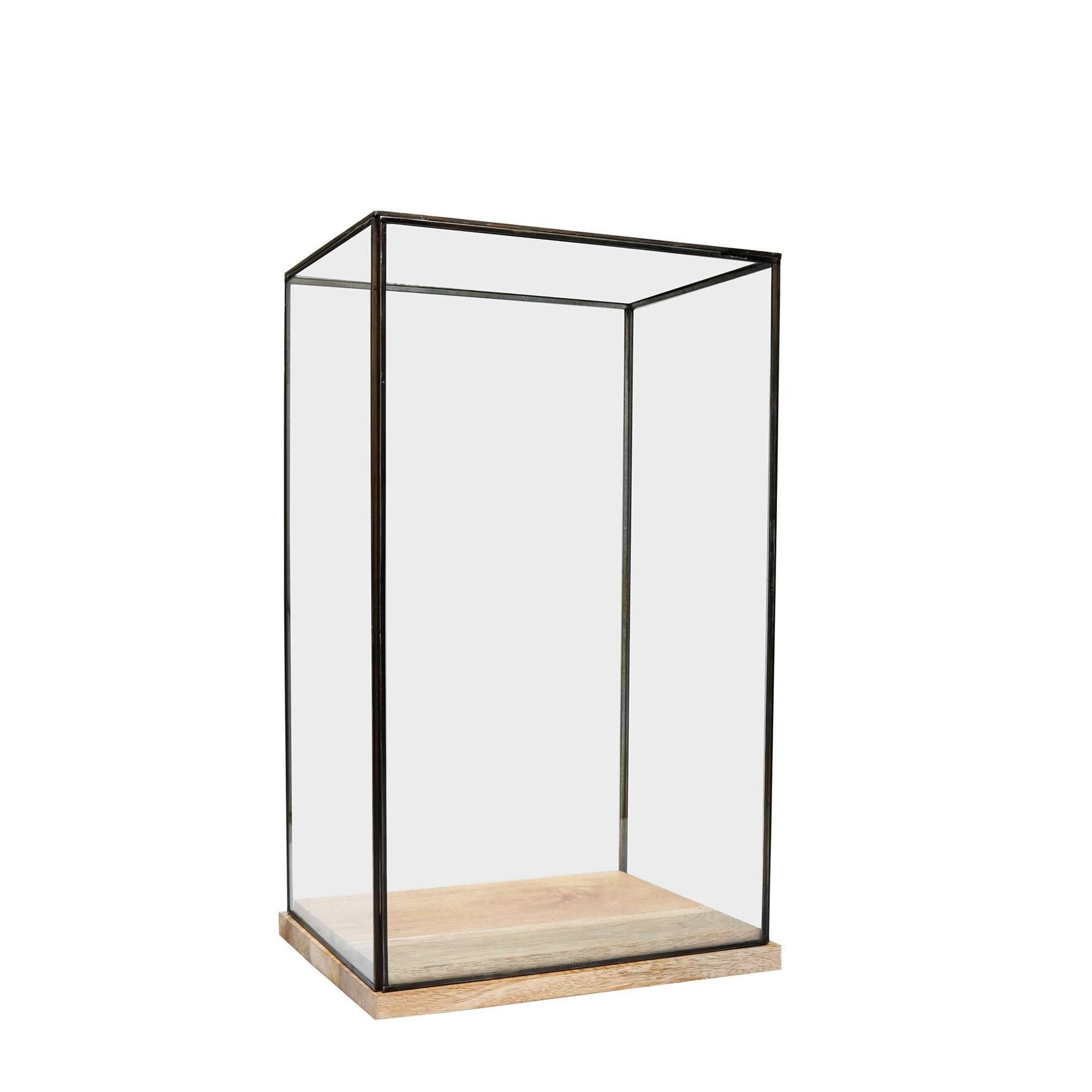 Decorative Glass Cabinet ( 16 X 26 X 32 Cm )