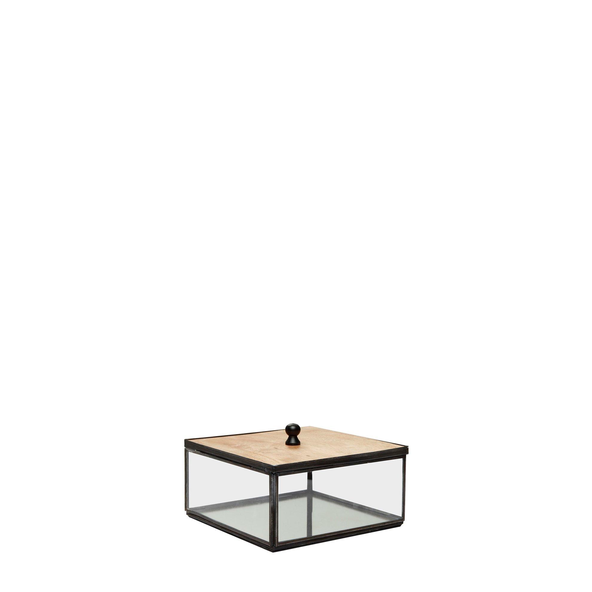 Picture of Decorative Glass Box ( 15 X 15 X 9 Cm )