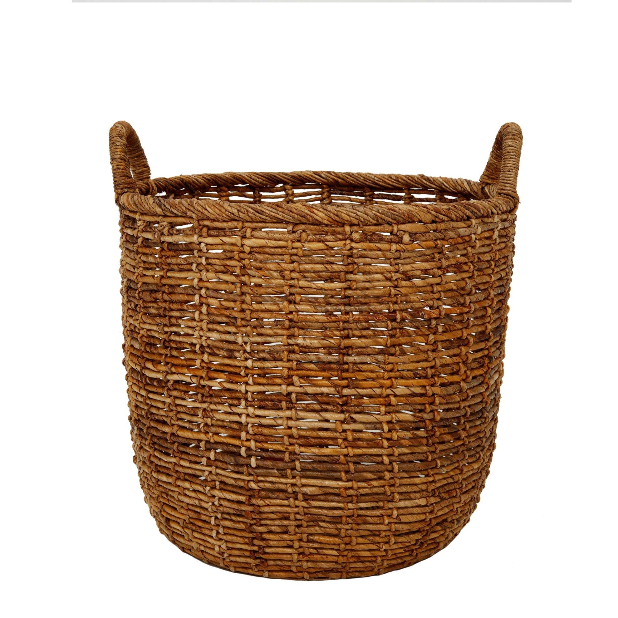 Straw Basket ( 50 X 51 X 54 Cm )