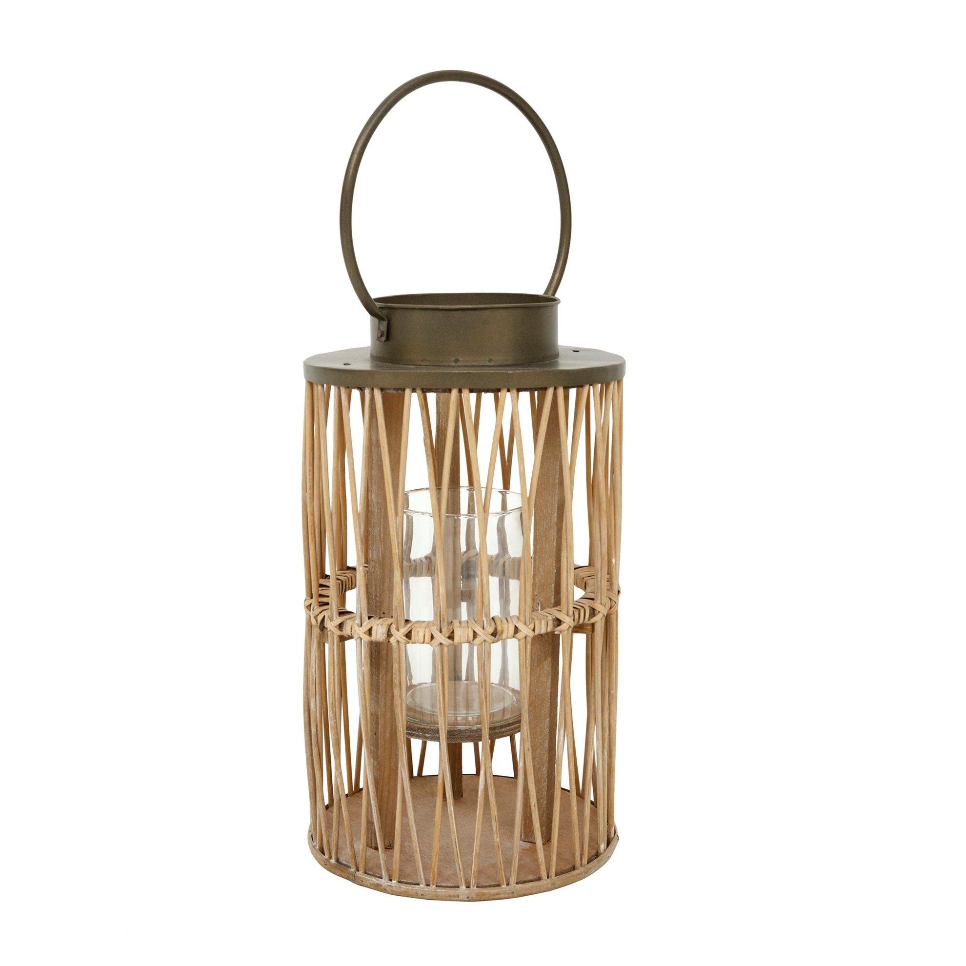 Decorative Lantern ( 23 X 23 X 55 Cm )