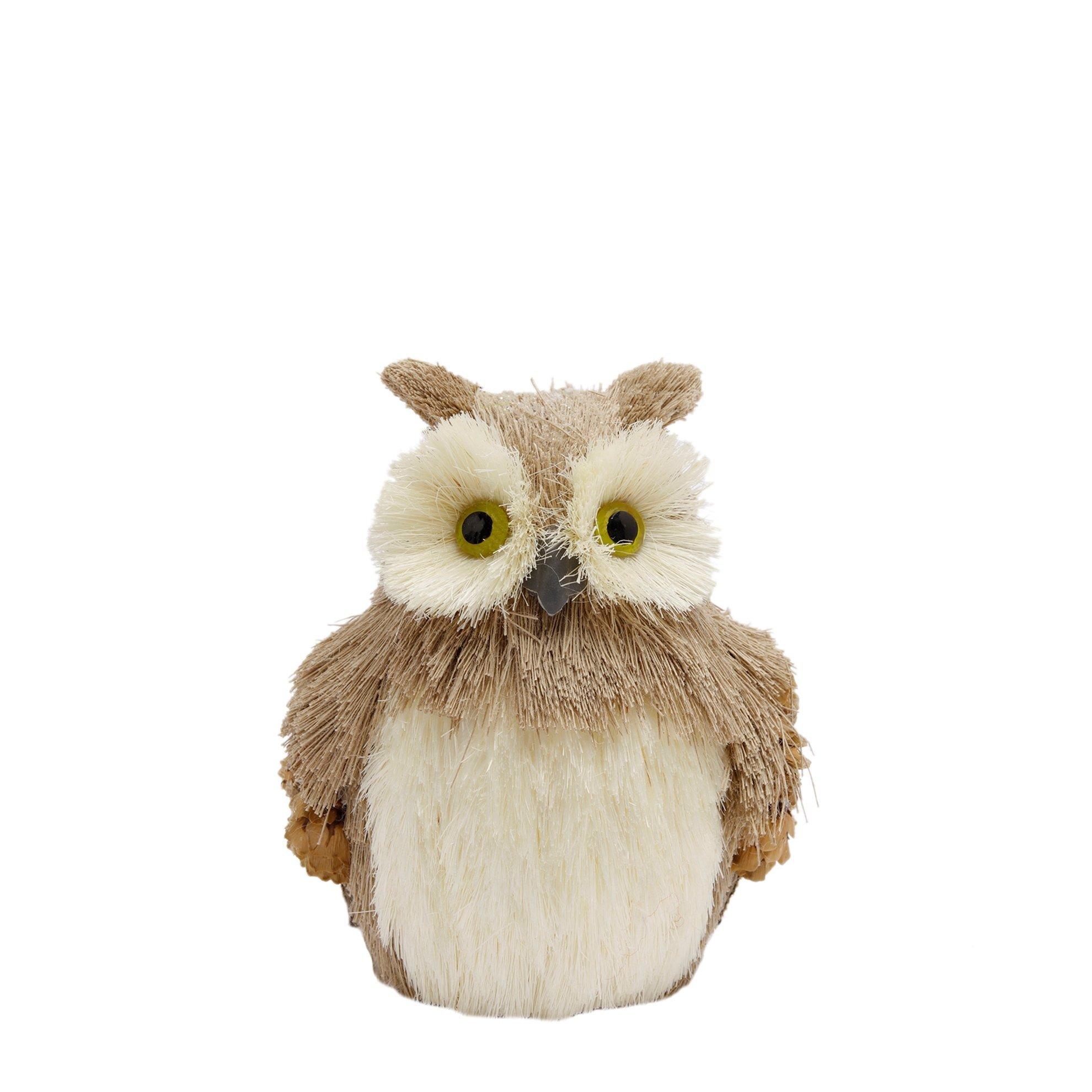 Decorative Owl Figure ( 10 X 13 Cm )