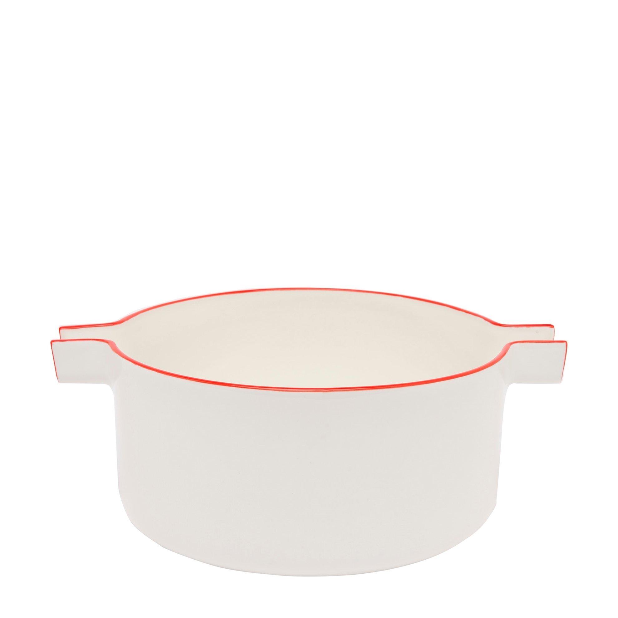 Porzellan-Salatschüssel
