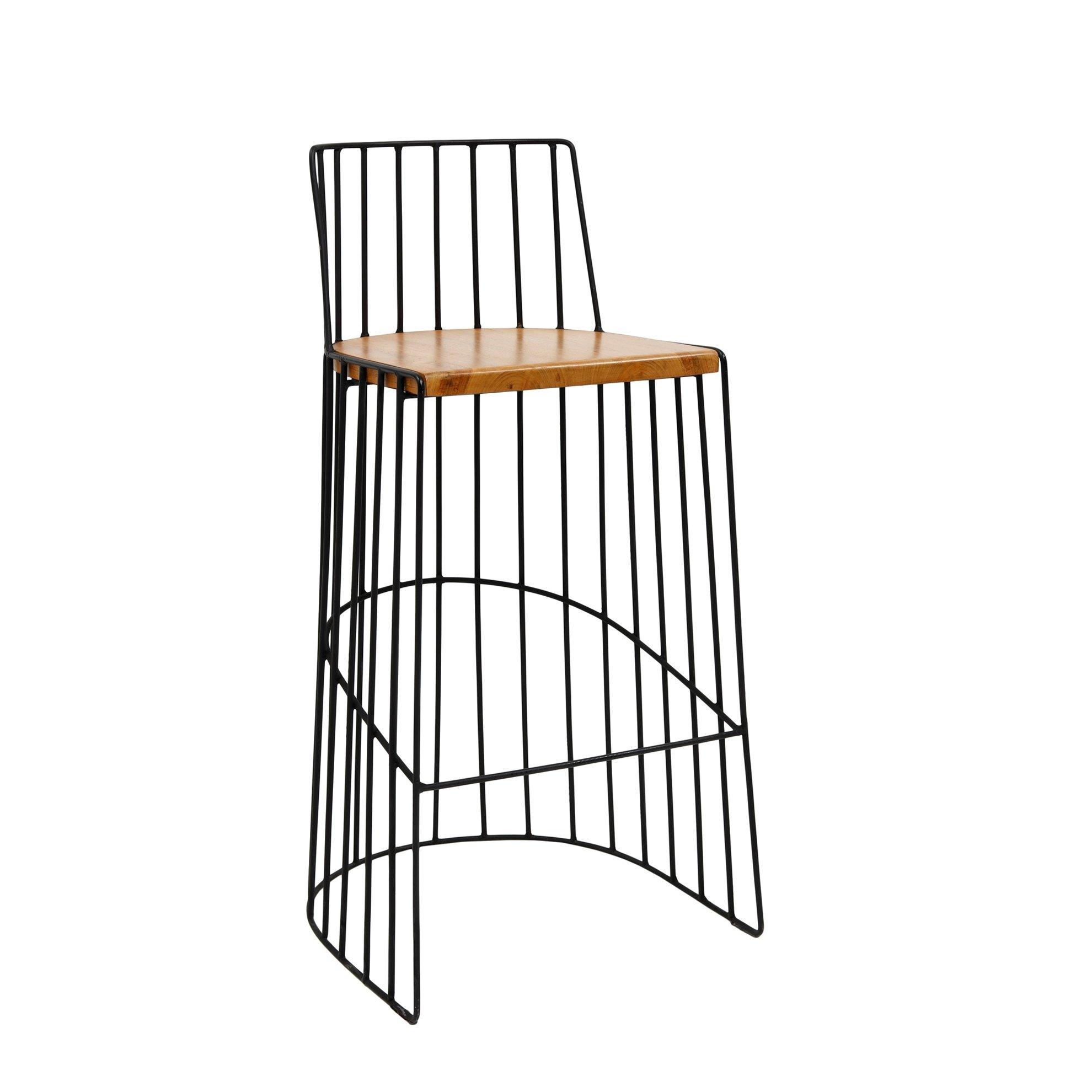 resm Tik Yüksek Sandalye ( 50 X 45 X 100 Cm )