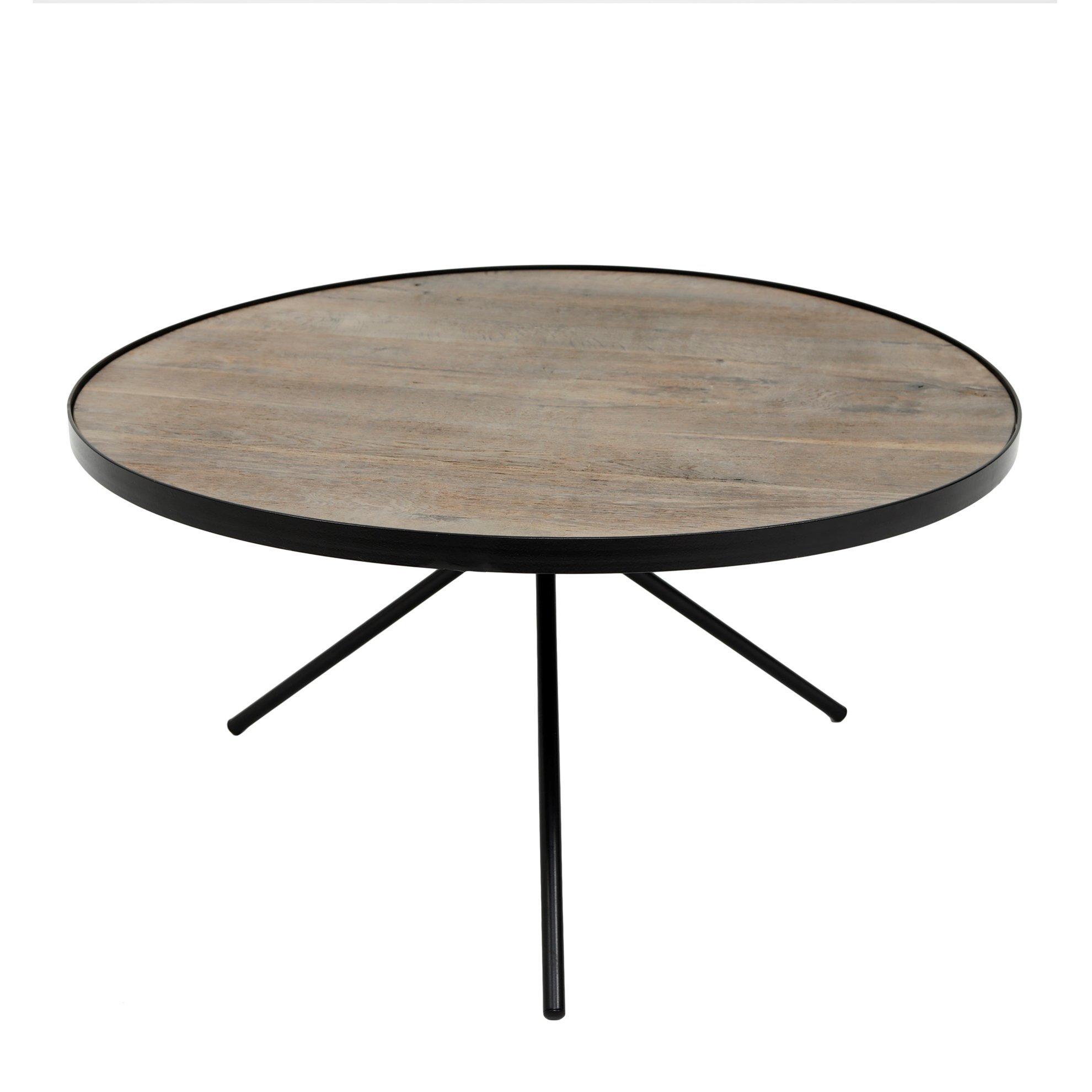 Round Coffee Table ( 75 X 75 X 37 Cm )