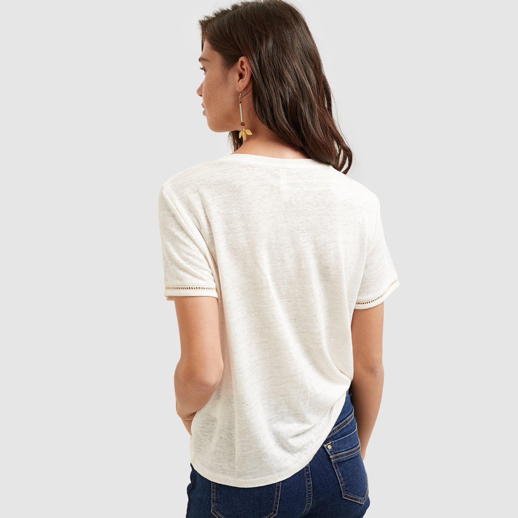 resm Bisiklet Yaka Kısa Kollu T-shirt