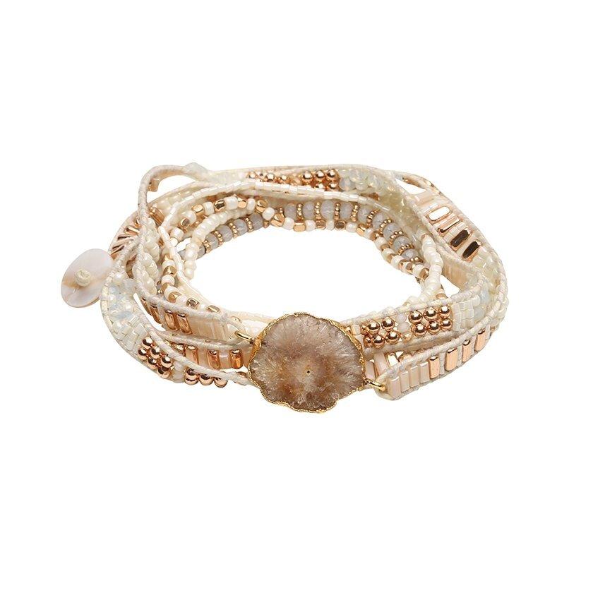 Armband mit Naturstein