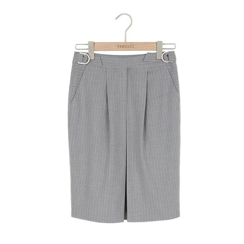 Belt Detailed Pencil Skirt