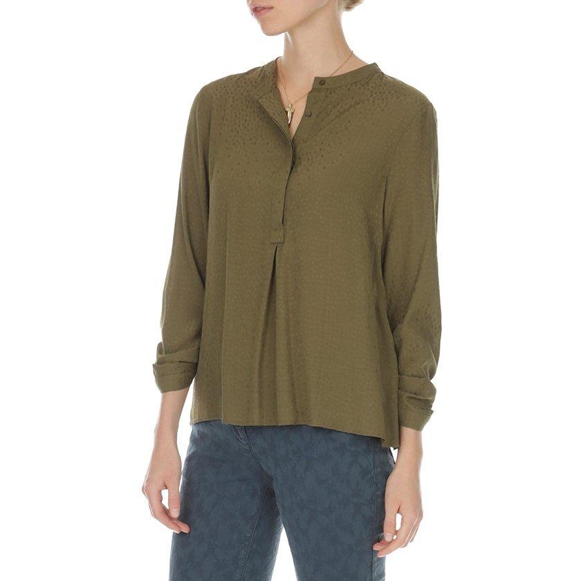 Kırma Detaylı Gömlek