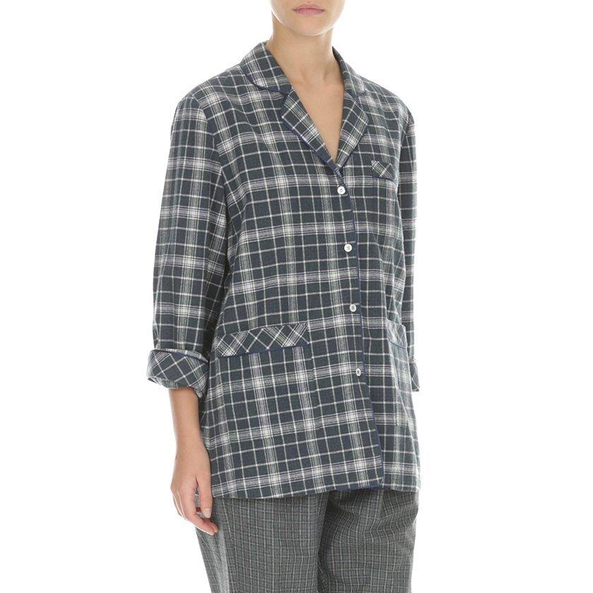 Biye Detaylı Pijama Üstü