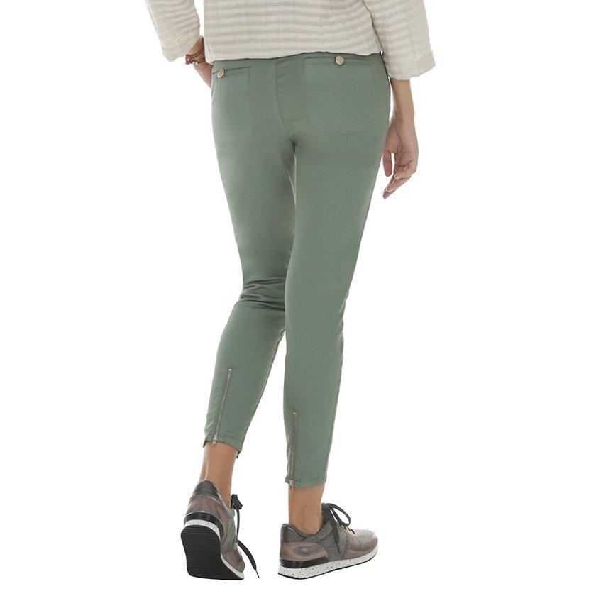 Damen Hose mit Reißverschluss