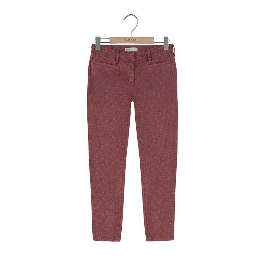 Fileto Cepli Geniş Kemerli Pantolon