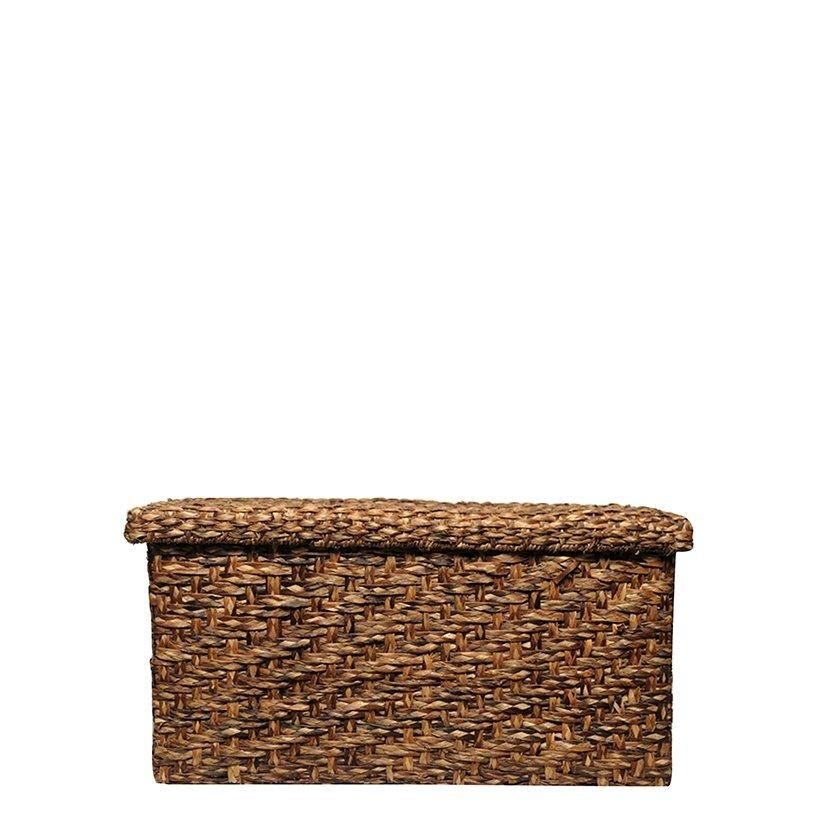 Wicker Basket ( 79 X 38 X 33 Cm )