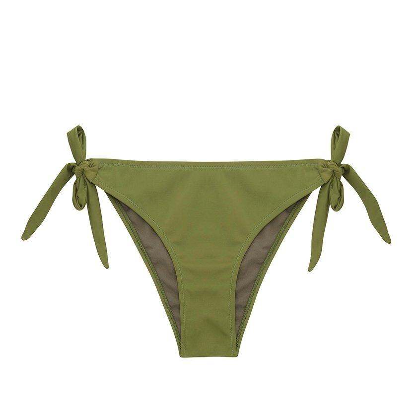 Bikini Bottom With Side Bow Detail