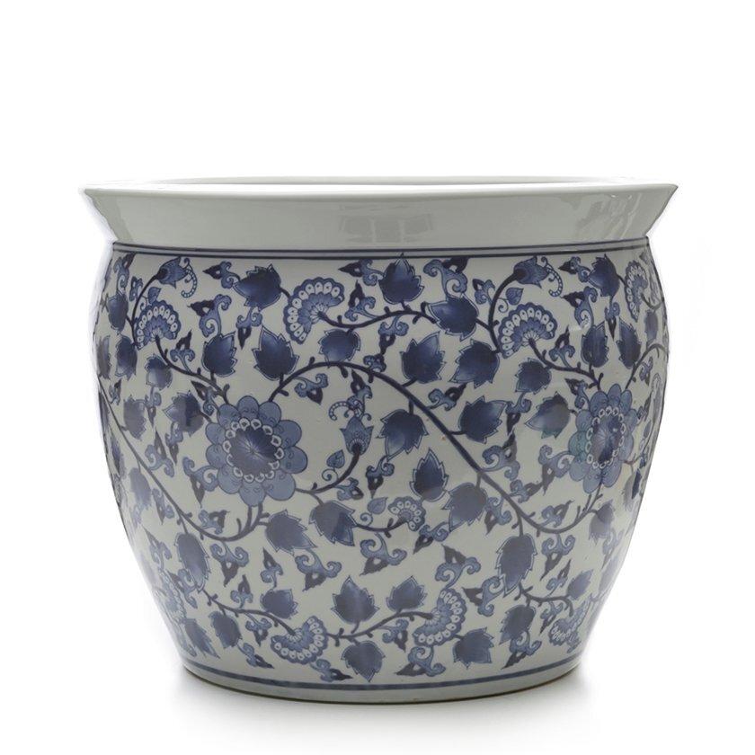 El Yapımı Seramik Pot (46x37cm)