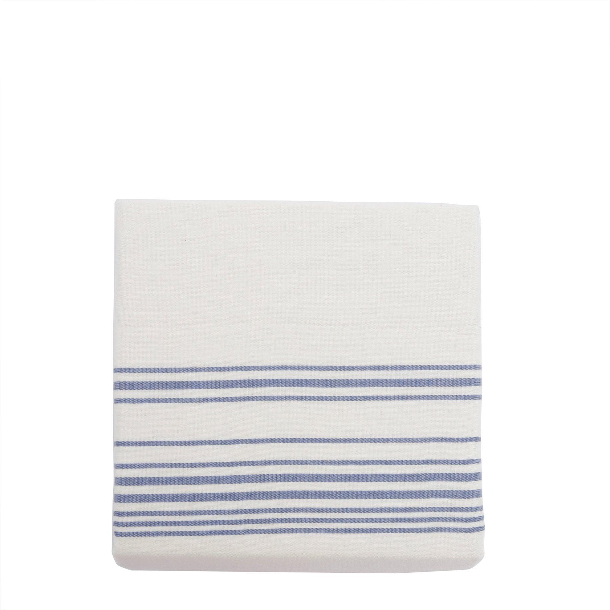 Esinti 2 Li Mavi Çizgili Yastık Kılıfı (50x70cm)