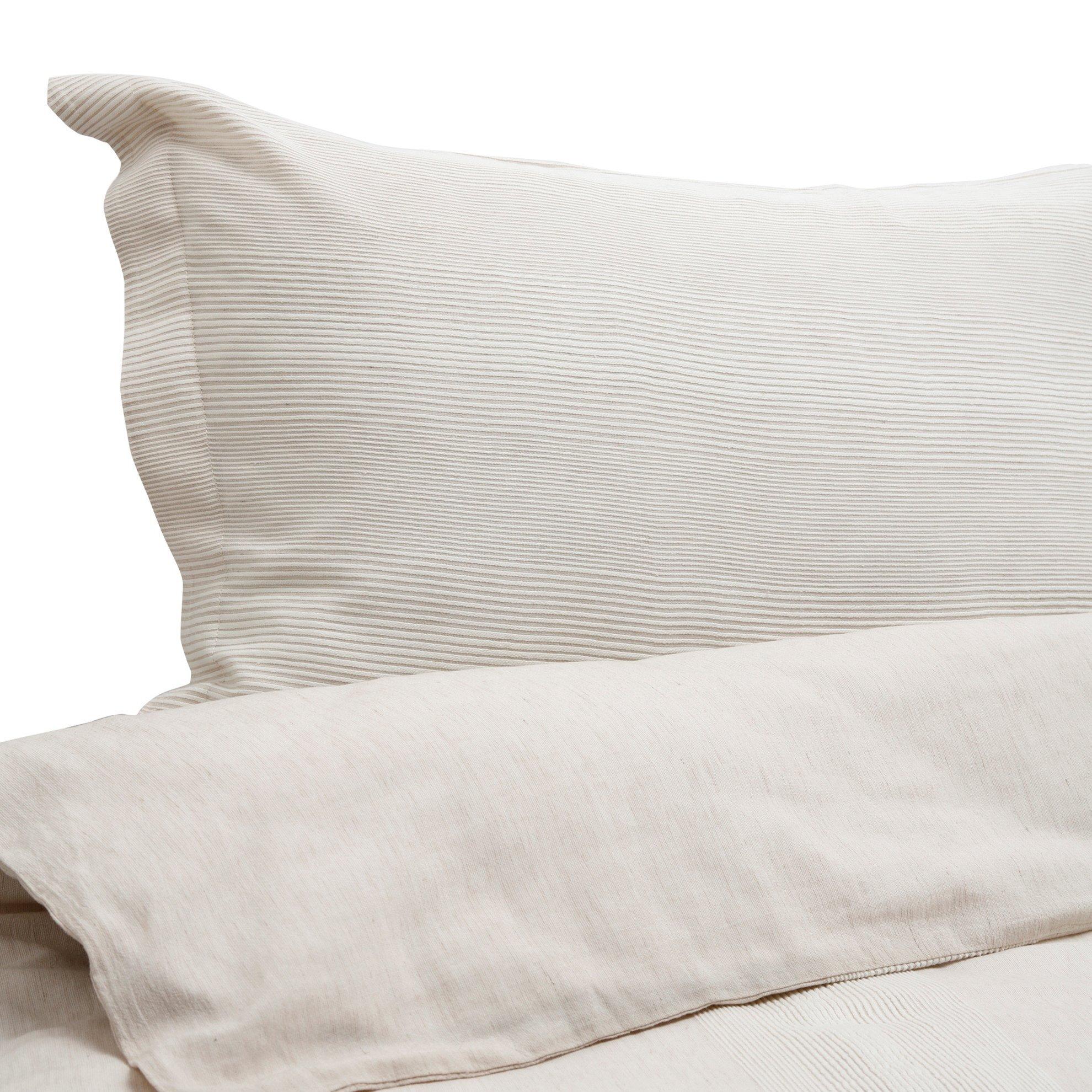Marin Bej 2 Li Dekor Yastık Kılıfı (50x70cm)