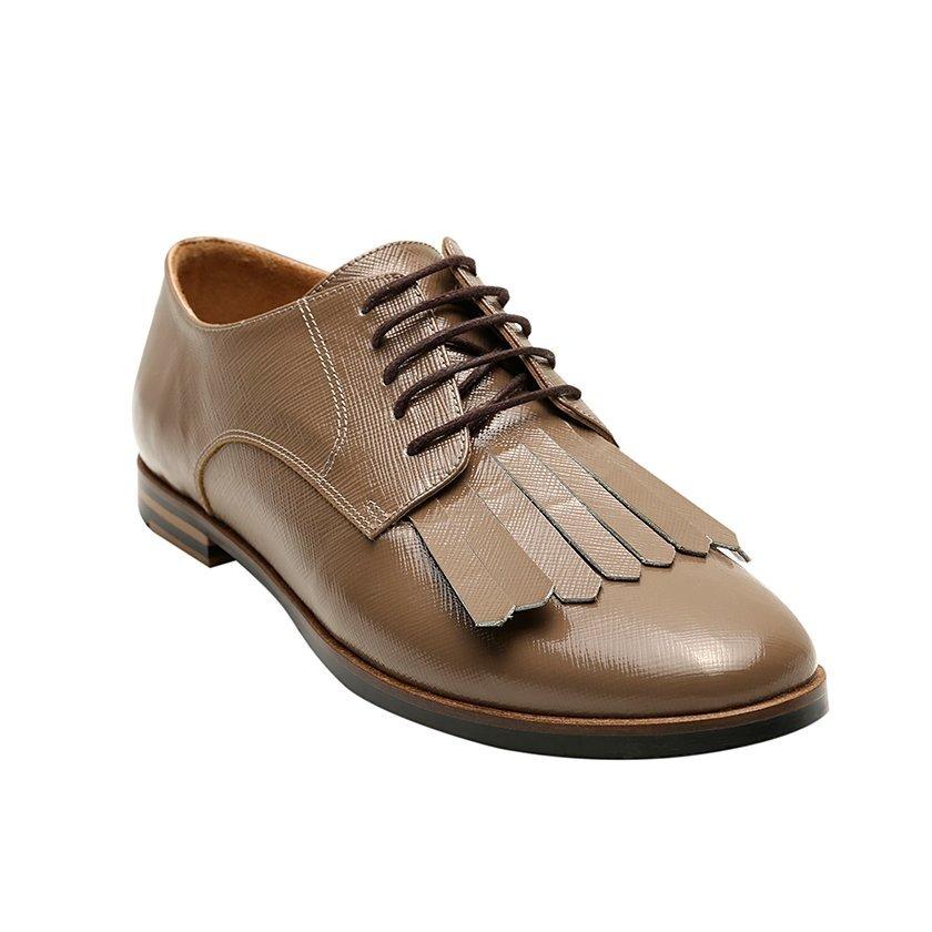 Lackleder Schuhe