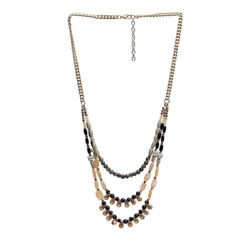 Halskette mit Naturstein