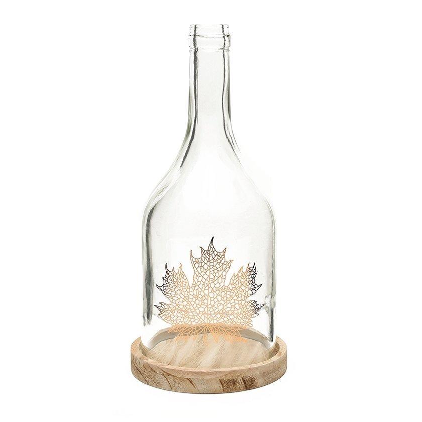 Decorative Glass Bottle (  10 X 37 Cm  )