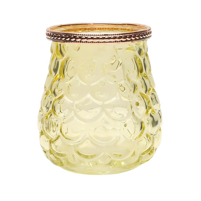 Glass Candle Holder (  10 X 11 Cm  )