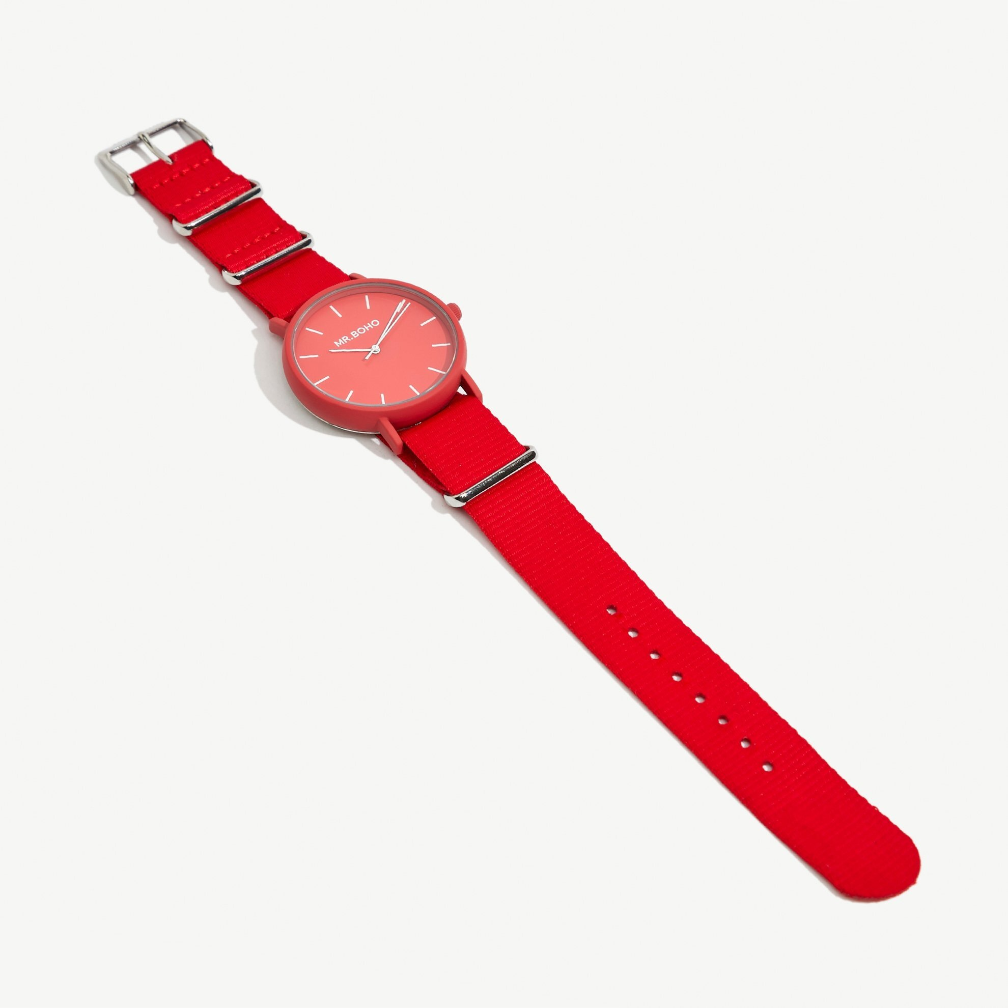 resm Mr. Boho Kanvas Kayışlı Saat