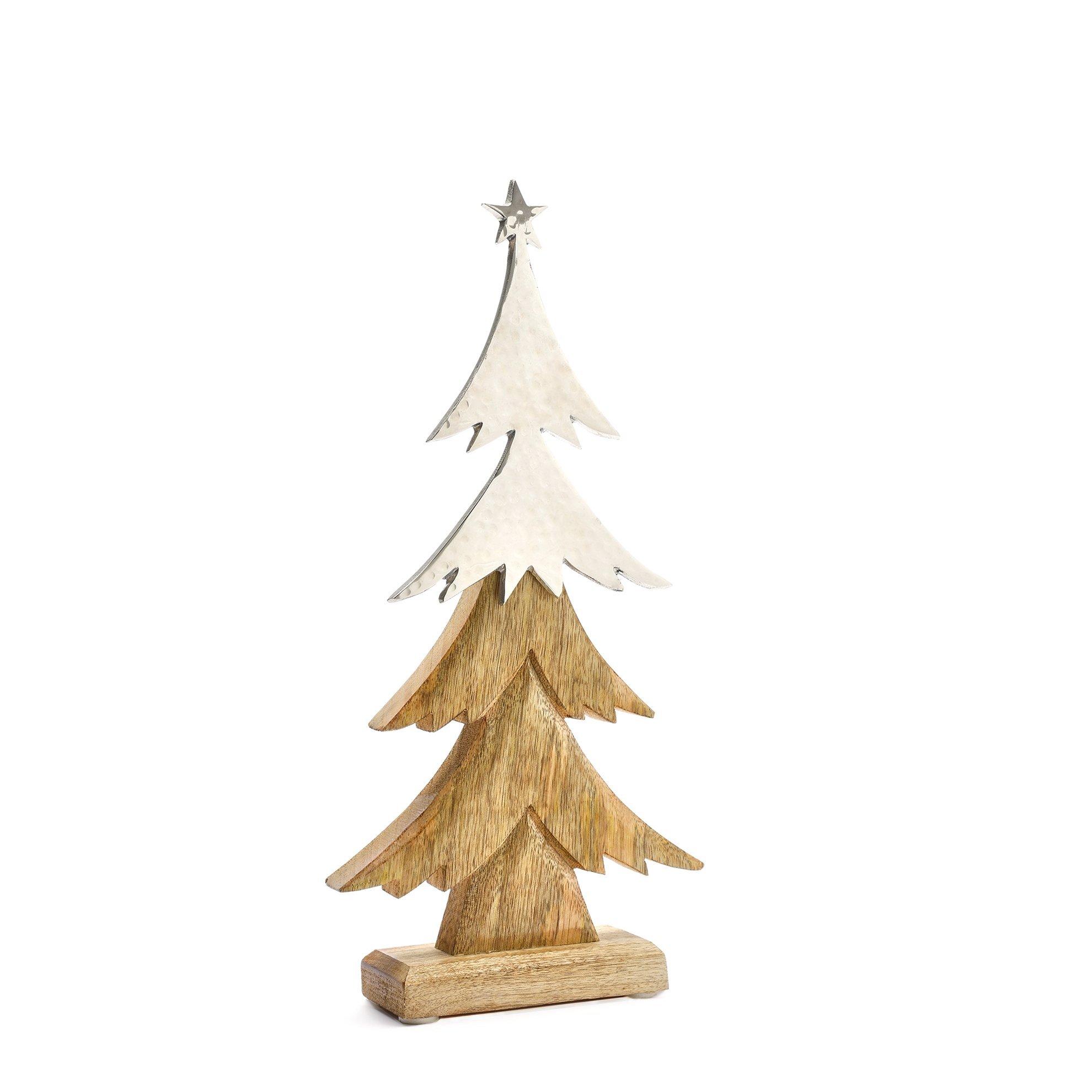Ağaç Yılbaşı Süsü ( 19 X 40 Cm )