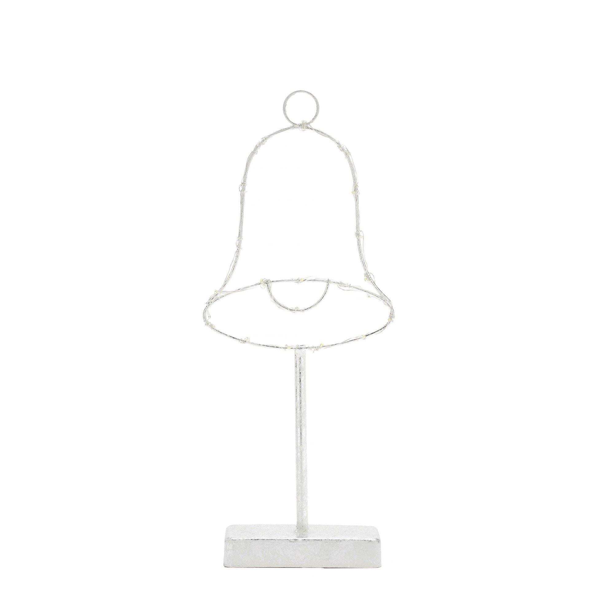 Zil Pilli Metal Işık ( 35 Cm )