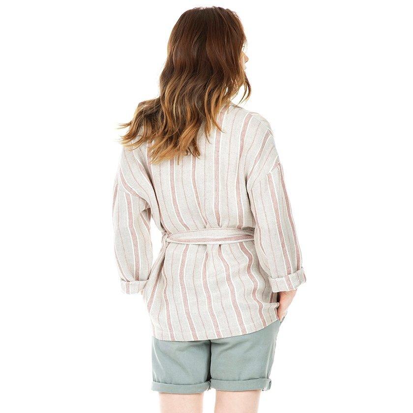 Kemer Detaylı Ceket