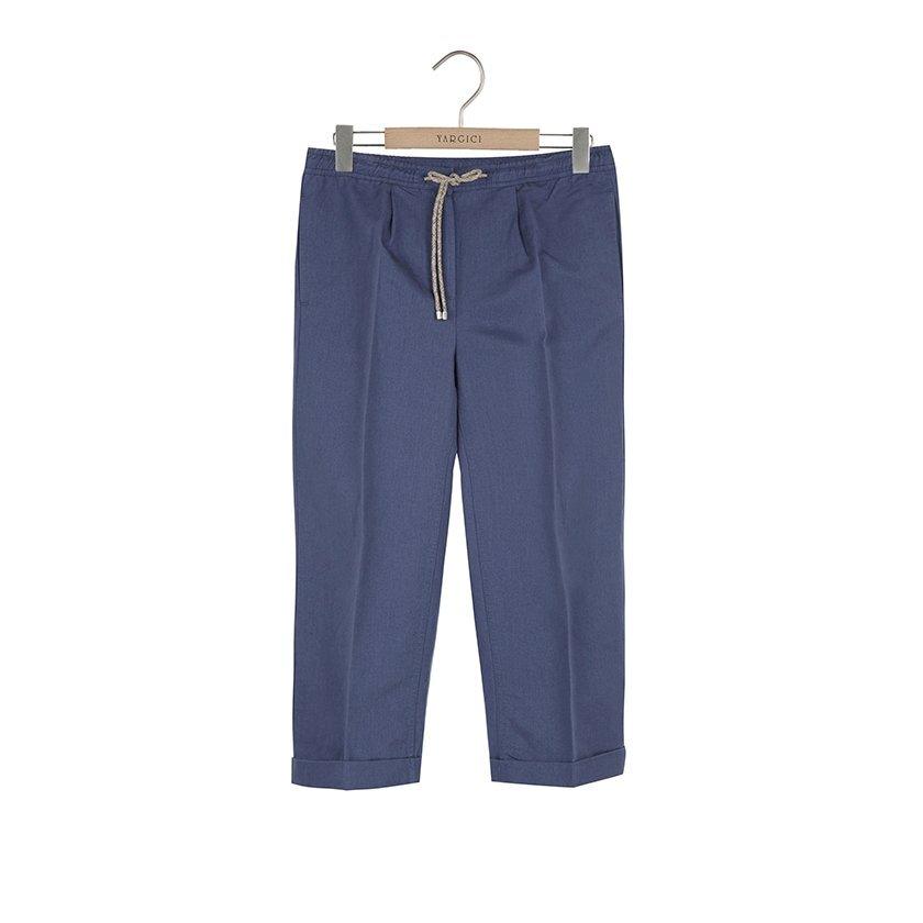 Beli Büzgülü Bol Kesim Pantolon