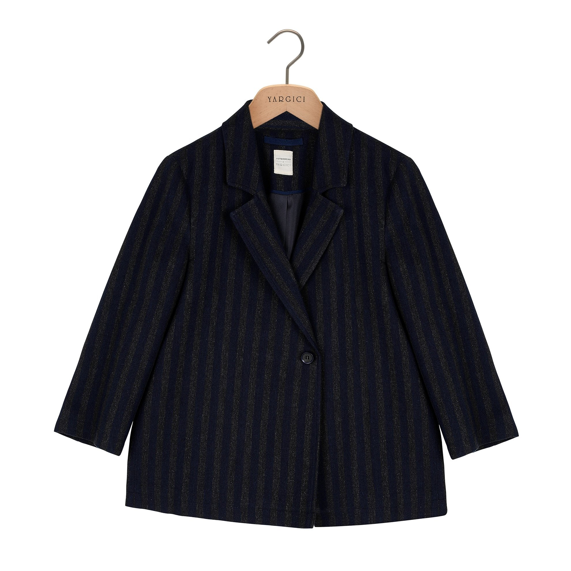 Double Breasted One Button Jacket