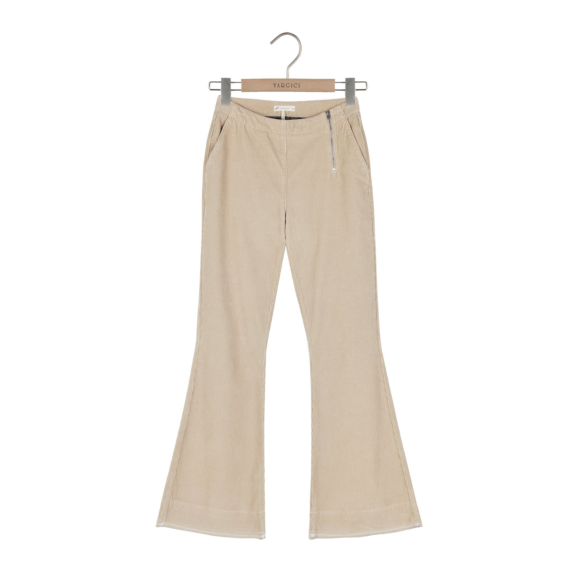 Damen Hose aus Samt