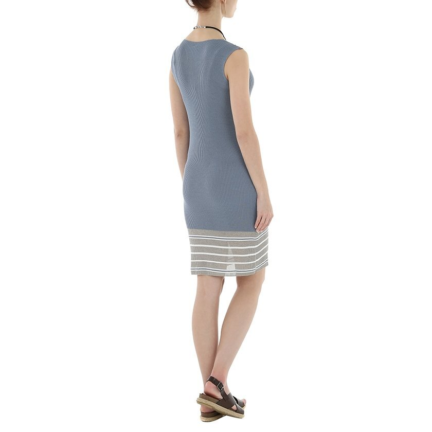 V Neck Lap Dress Tricot