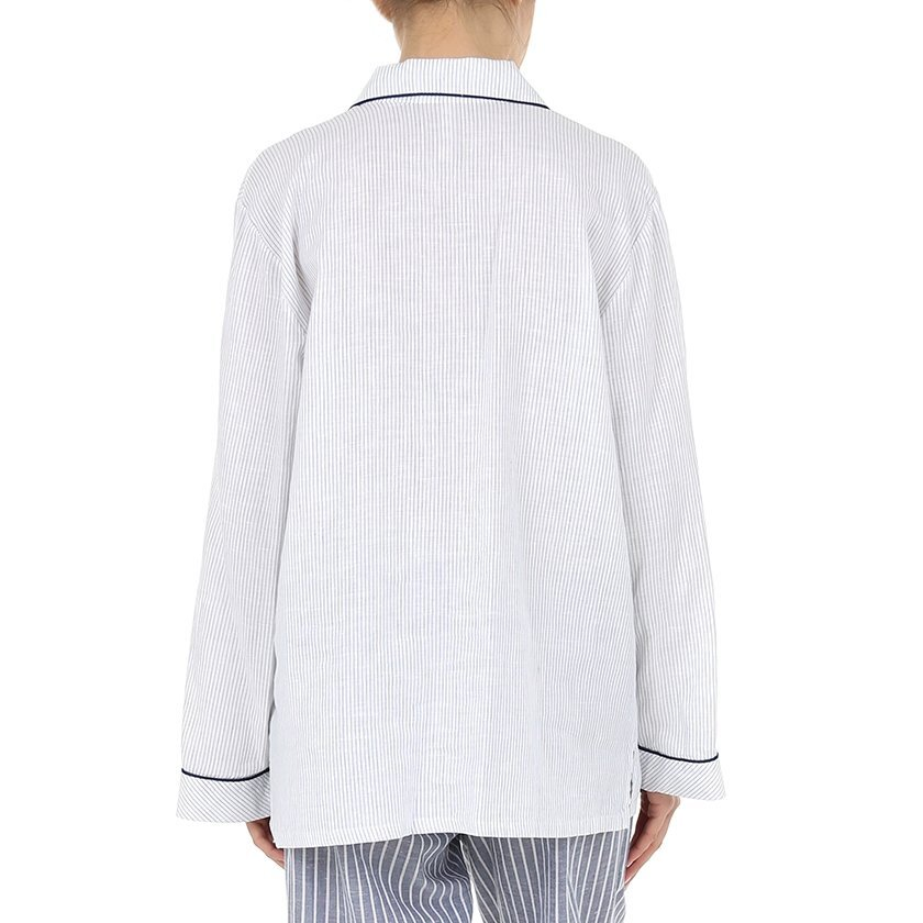Piped Pyjama Top