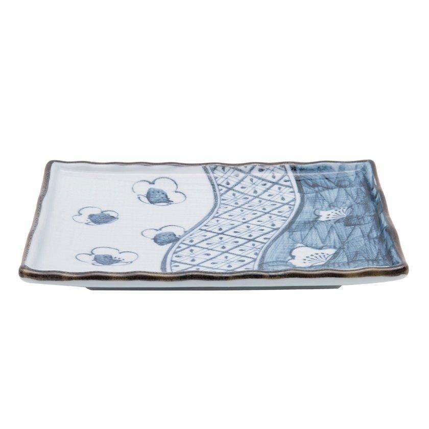 Handmade Ceramic Plate ( 18 X 12 Cm )